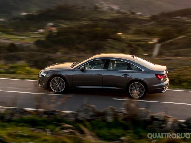 Audi - Al volante della nuova A6 berlina