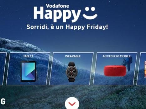 Sconto Samsung Shop per l'Happy Friday di Vodafone Happy del 28 luglio: link e prodotti esclusi