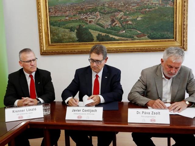 La città ungherese di Pécs ha ordinato dieci bus elettrici da BYD