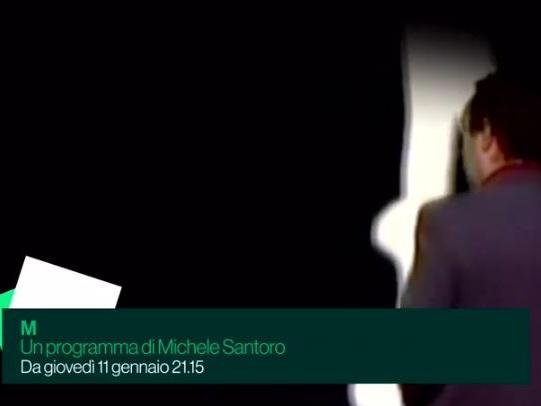 La canzone sigla di M di Michele Santoro (video)