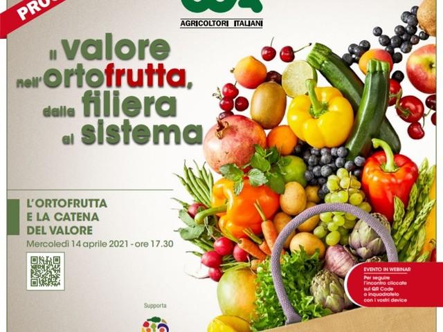 Ortofrutta italiana: non c'è il giusto reddito per gli agricoltori