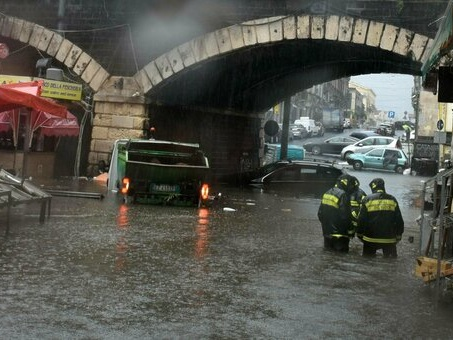 Maltempo in Sicilia, «ancora temporali e venti di burrasca». Le previsioni