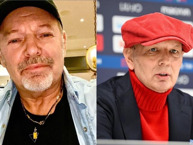 """Vasco Rossi ringrazia Sinisa Mihajlovic sui social: """"Ti abbraccio forte"""""""