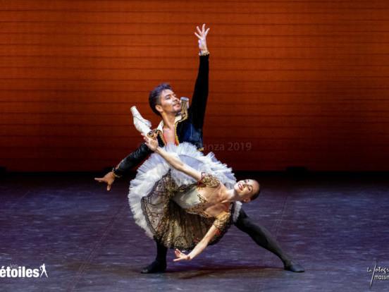 "Tatiana Melnik e Bakhtiyar Adamdzhan in ""Don Chisciotte"" (pas de deux, III atto)."