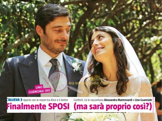 Intervista a Lino Guanciale e Alessandra Mastronardi, i protagonisti de 'L'Allieva', arrivano le prima anticipazioni sulla terza stagione e…pioggia di fiori d'arancio anche nella vita reale!