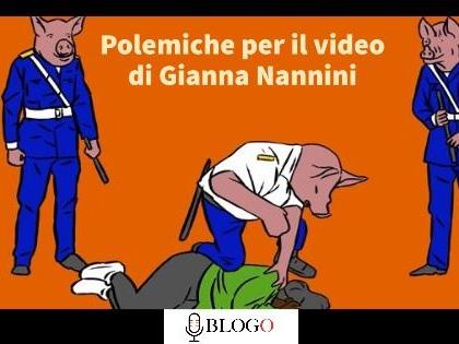 """Il sindacato di Polizia contro il video di Gianna Nannini: """"Grave oltraggio"""". La replica della cantante"""