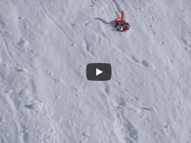 VIDEO. Angel Collinson e la spaventosa caduta con gli sci della scorsa stagione
