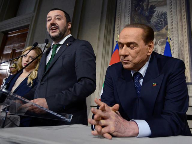 """Berlusconi: """"Salvini leader del centrodestra, ma Forza Italia è diversa dalla Lega"""""""