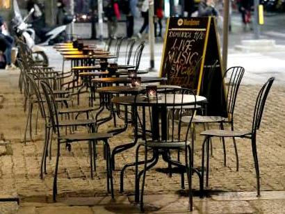 Covid, bar e ristoranti temono un nuovo collasso economico Manifestazione anche a Trento