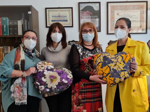 8 marzo, i cuori della gratitudine di donne Impresa Coldiretti
