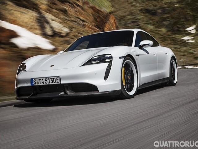 Porsche Taycan - La prima elettrica di Zuffenhausen - VIDEO