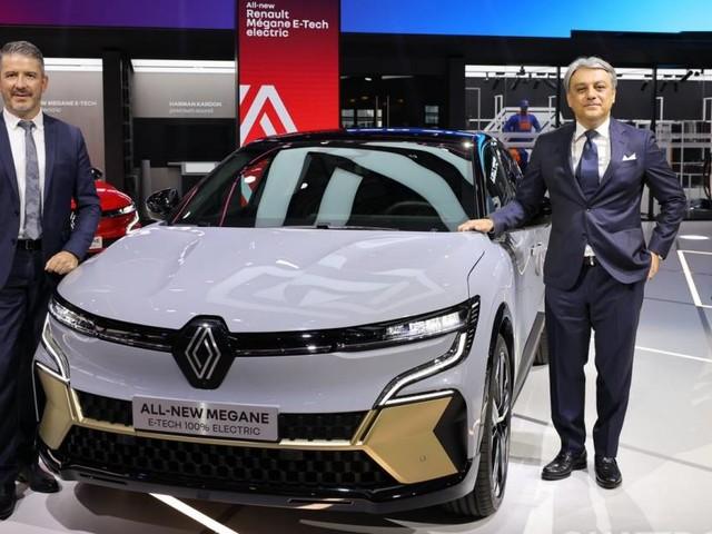"Renault - De Meo: ""Con la Mégane EV si apre una nuova era"""