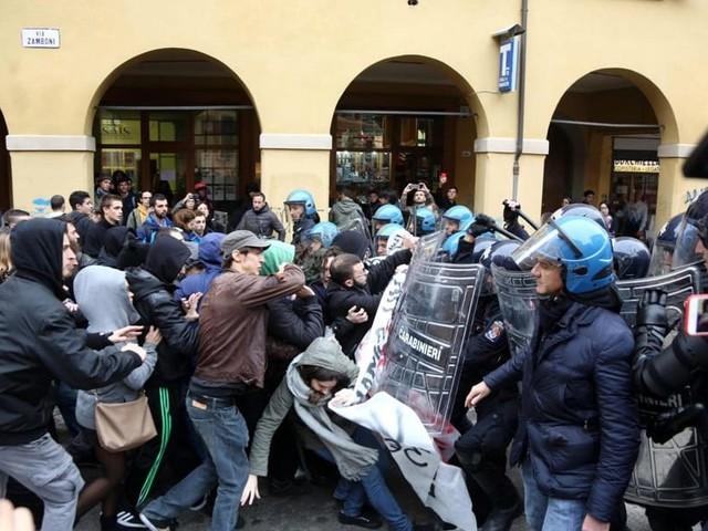 Per gli scontri a Bologna denunciato anche un 25 enne trentino.
