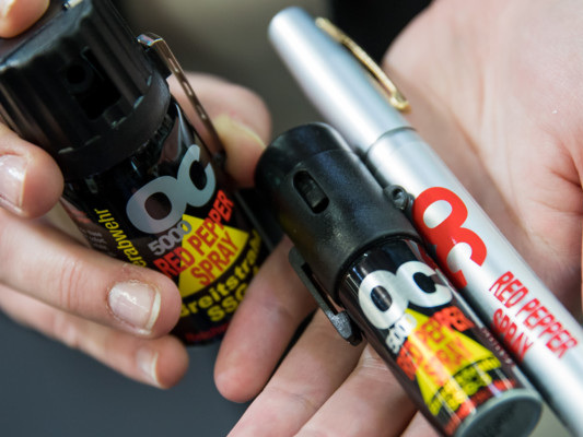 Lo spray al peperoncinoè stato usato a scuola almeno 15 volte in un anno