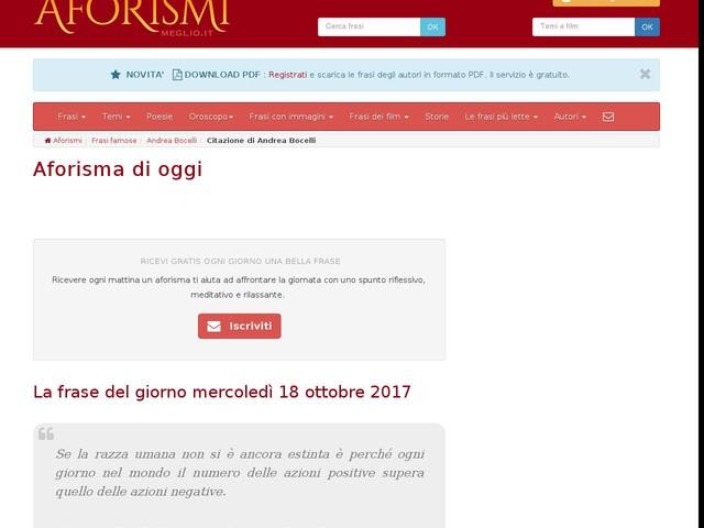 Aforisma di Andrea Bocelli