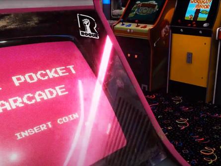 The Pocket Arcade – 24 retrogames in uno!! Mitico!