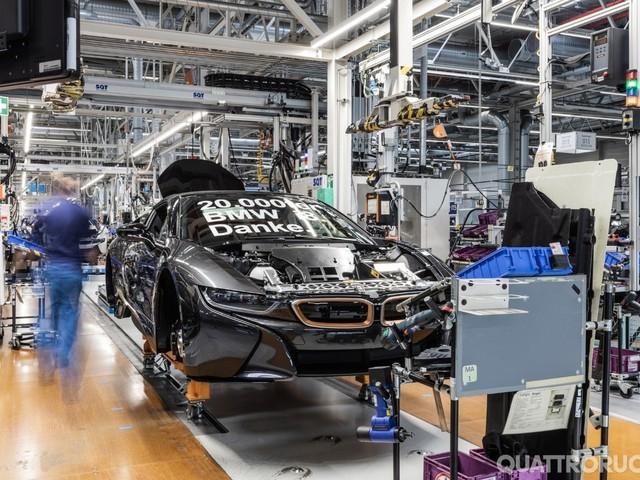 BMW i8 - Prodotto a Lipsia l'esemplare numero 20.000