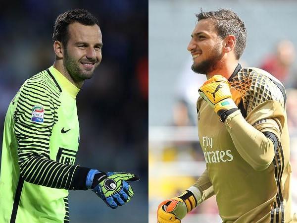 Milan-Inter: difese super con Donnarumma e Handanovic
