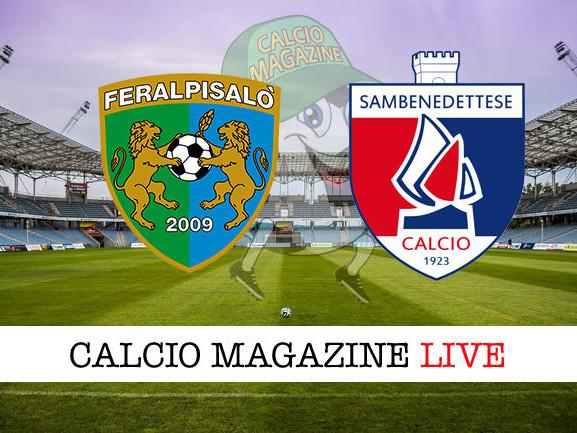 FeralpiSalò – Sambenedettese 1-2: diretta live, risultato in tempo reale