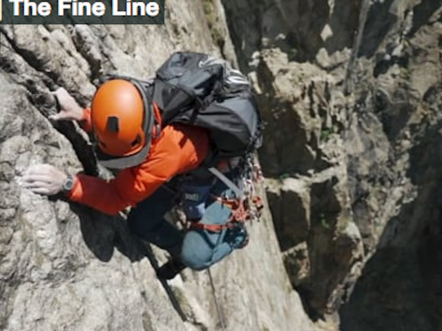 """VIDEO. """"The Fine Line"""". Rope Soloing and Paragliding with Willis Morris"""