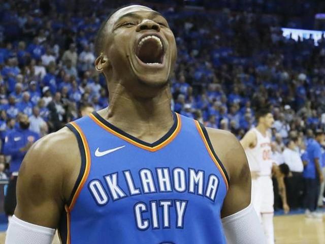 OKC, prima straripante Westbrook in tripla doppia