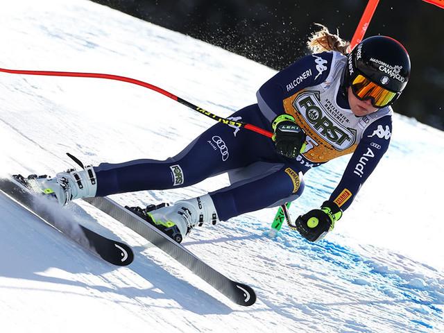 San Pellegrino, Laura Pirovano sfiora il podio in discesa: è quinta, vince Gut. Troppi errori per De Aliprandini: 18° nel gigante di Bansko