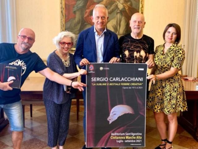 Civitanova, sabato 17 luglio taglio del nastro per la mostra su Sergio Carlacchiani