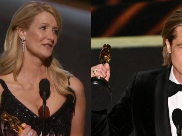 Oscar 2020: Brad Pitt e Laura Dern sono i migliori attori non protagonisti