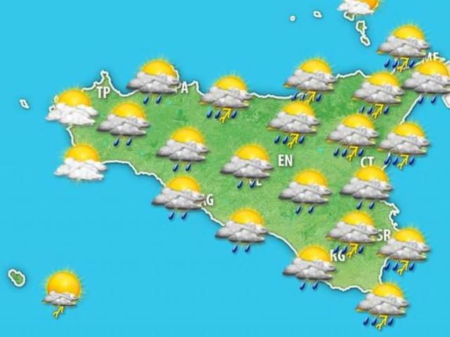 Meteo Sicilia: ulteriore ONDATA TEMPORALESCA IMMINENTE, ultimi aggiornamenti