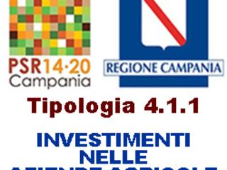 CAMPANIA, pubblicato il Bando della Tipologia 4.1.1: Supporto per gli investimenti nelle aziende agricole. Scadenza domande 31 ottobre 2017.