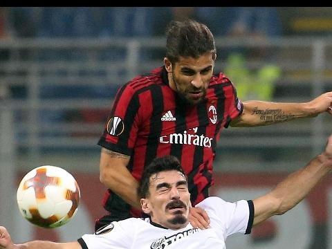 Milan-Aek Atene 0-0, fischi a San Siro
