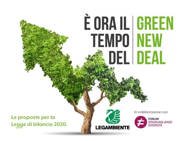 Legge di bilancio 2020: il tempo del Green New Deal è ora