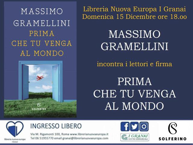 Brindisi natalizio con Massimo Gramellini alla Libreria Nuova Europa I Granai, 15 dicembre