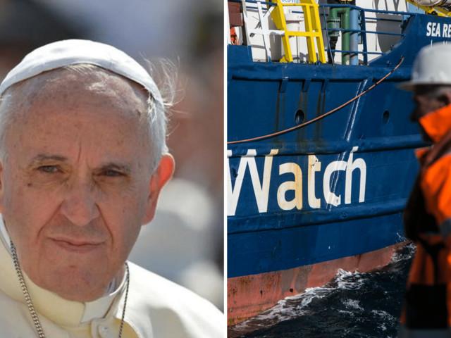"""""""I leader europei dimostrino solidarietà"""", Papa Francesco e l'appello per i migranti della Sea Watch"""