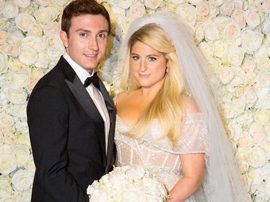 Meghan Trainor, ecco le foto private delle nozze