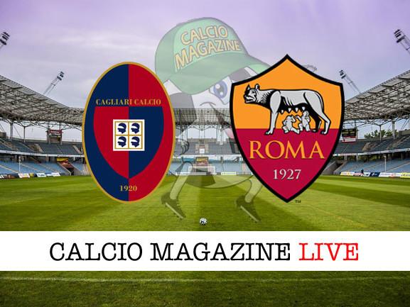 Cagliari – Roma 2-2: pareggio dei sardi, in nove, all'ultimo minuto