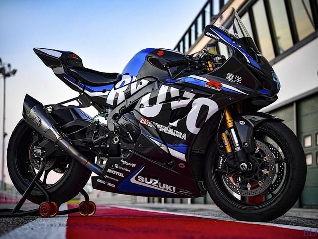 Suzuki Ryuyo: la GSX-R 1000 nata solo per la pista