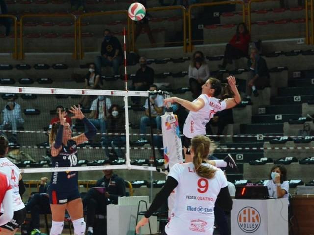 A2, battuta d'arresto per la Cbf Balducci Macerata: Ravenna si impone in quattro set
