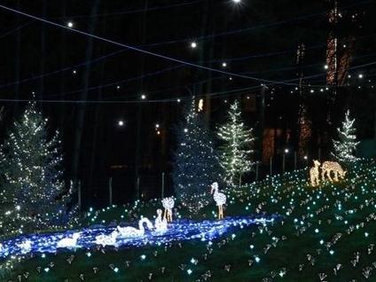 Leggiuno capitale delle festività natalizie. Si accendono le tradizionali lucine dei Betti