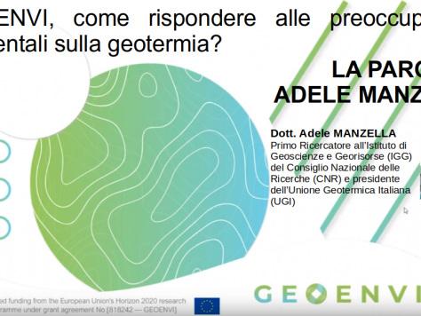 Geoenvi, come rispondere alle preoccupazioni ambientali sulla geotermia? La parola ad Adele Manzella