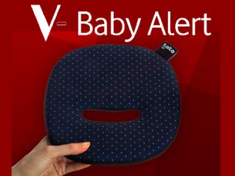 Seggiolini antiabbandono, anche Vodafone ha il suo: ecco V-Baby Alert