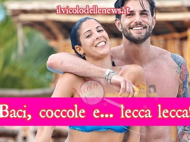 #uominiedonne #wow Andrea Melchiorre e Martina Luchena paparazzati a cena insieme a Milano, baci coccole e…stanno davvero insieme? Galeotti furono i lecca lecca…vi piacciono insieme?