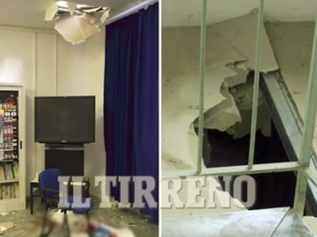 Crolla il pavimento in una scuola, prof vola giù da tre metri