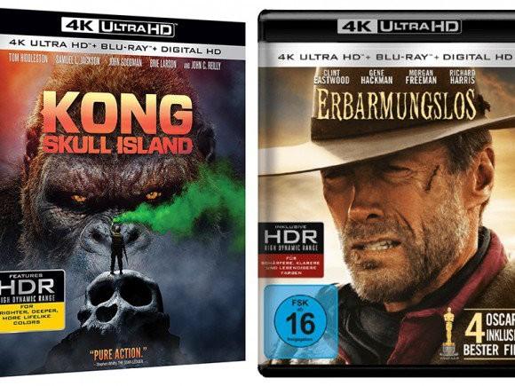 """Kong: Skull Island"" e gli altri Ultra HD Blu-ray in arrivo in Italia"