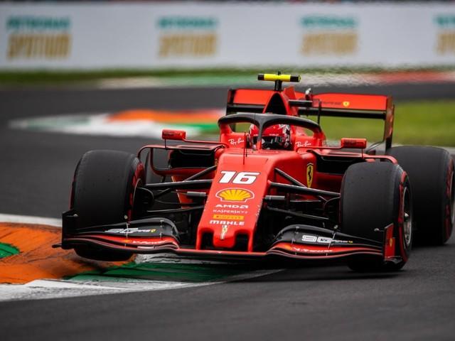 F.1, GP d'Italia - Pole position per la Ferrari di Charles Leclerc