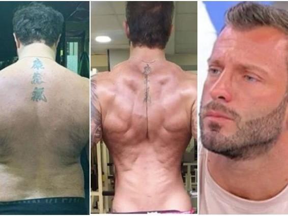 """Uomini e Donne, Michele Dentice prima e dopo il cambiamento fisico: """"Vedevo ogni giorno tutto nero"""""""