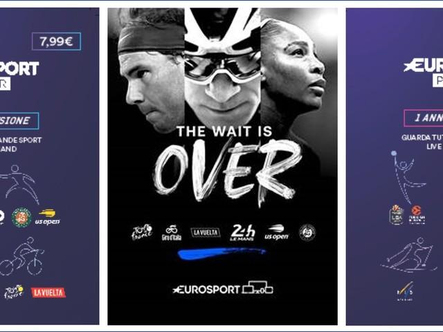 Discovery lancia le Gift Card Eurosport Player per il mercato italiano