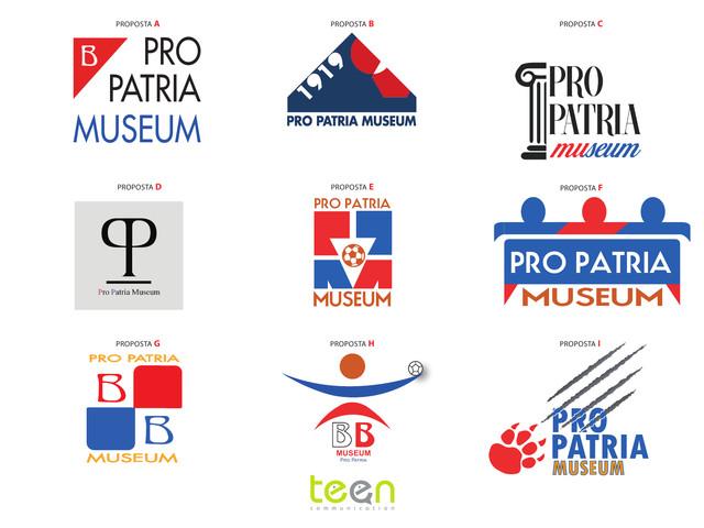 Scegli il logo del Pro Patria Museum