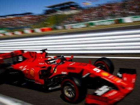 F1, in Giappone prima fila per la Ferrari: pole di Vettel, secondo Leclerc