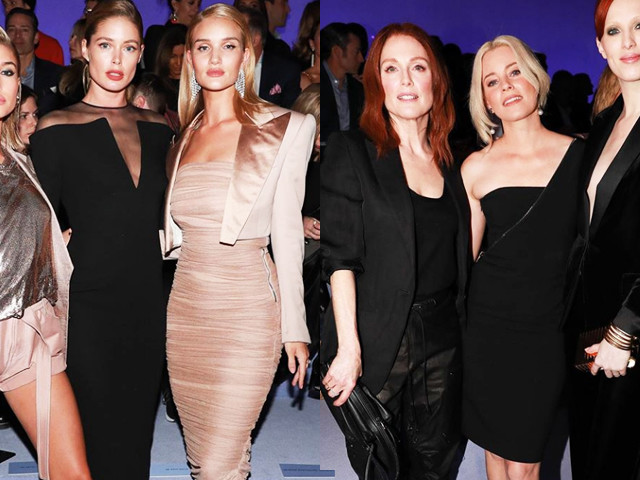 New York Fashion Week: le star in front row. Julianne Moore ed Elizabeth Banks da Tom Ford